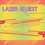 Invitation Rallye Laser Quest (2009)