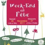 Affiche et affichette Week-end en Fête