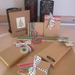 De jolis paquets…