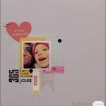 Une page 100% LOVE par Agathe