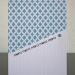 Cartes réalisées avec les papiers imprimables MIA