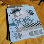 Mini album scrap photographie