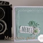 Boites gigognes et carte scrapées papiers Jérôme