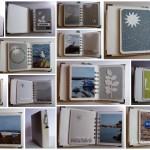 Mini-album de scrap : bord de mer