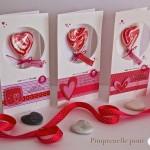Trio de cartes *avec un petit plus gourmand* pour une Saint-Valentin qui célèbre l'amitié