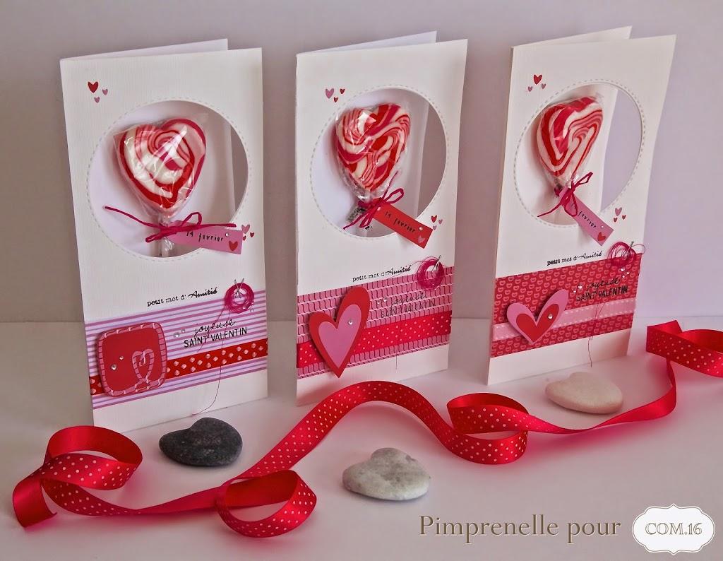 Trio de cartes avec un petit plus gourmand pour une saint valentin qui c l bre l 39 amiti - Quel jour est la saint valentin ...