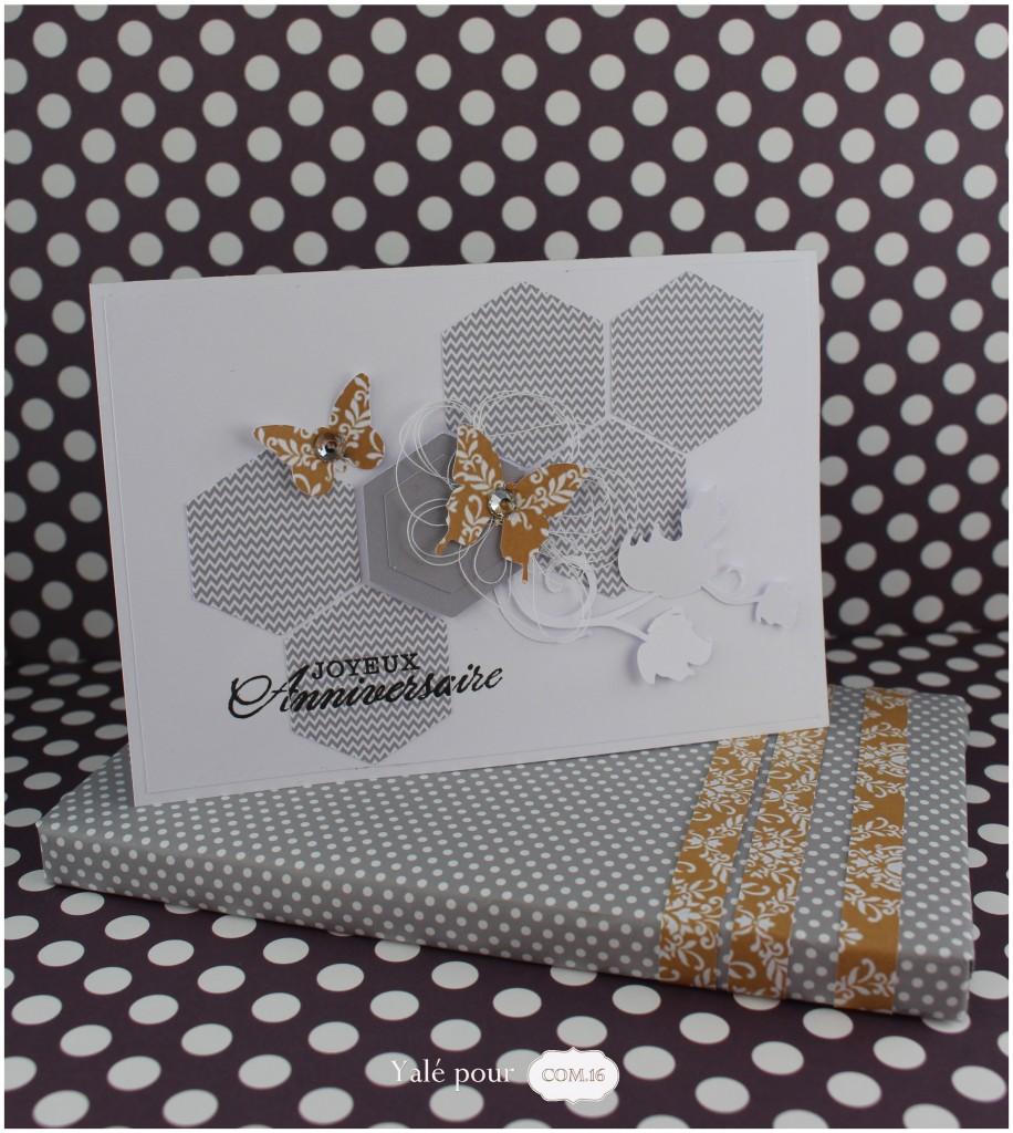 01a_yale_pour_com16  _carte_anniversaire_et_emballage_cadeau_hexagones_et_papillons_chic_et_sobre