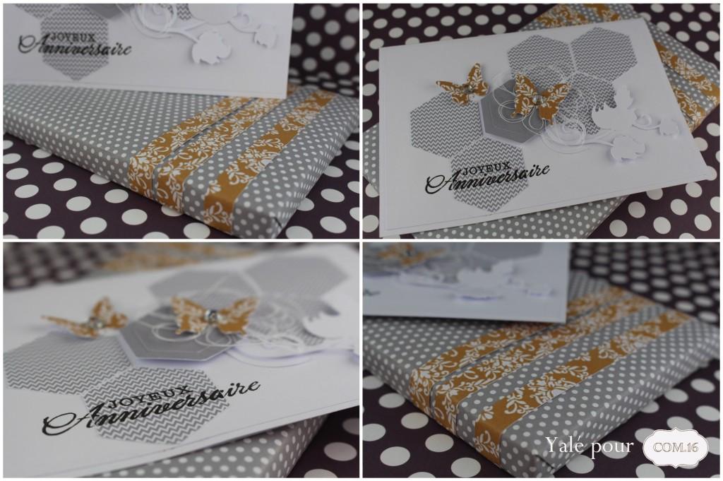 01b_yale_pour_com16  _carte_anniversaire_et_emballage_cadeau_hexagones_et_papillons_chic_et_sobre