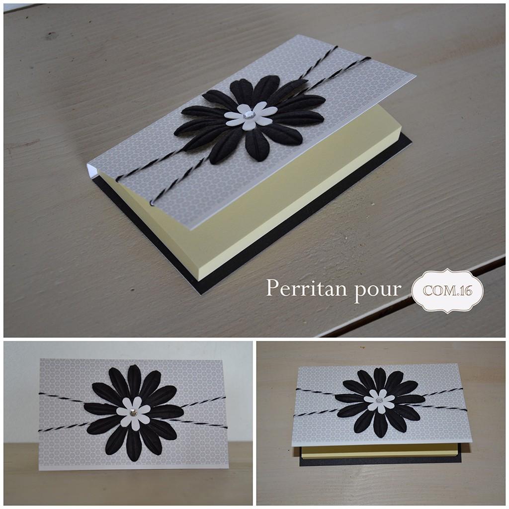 perritan bloc post it papiers iprimables com16 combo noir et blanc