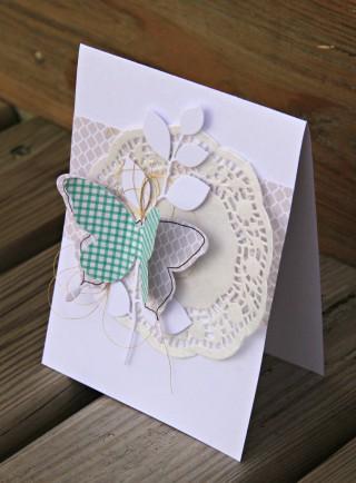 cat123 pour com.16 - carte papillons et branches - gris et vert - collections Jean et Lisa - .JPG