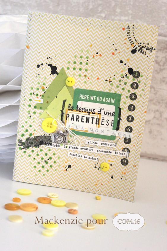Mackenzie - DT Com 16 - cahiers de vacances - Montagne