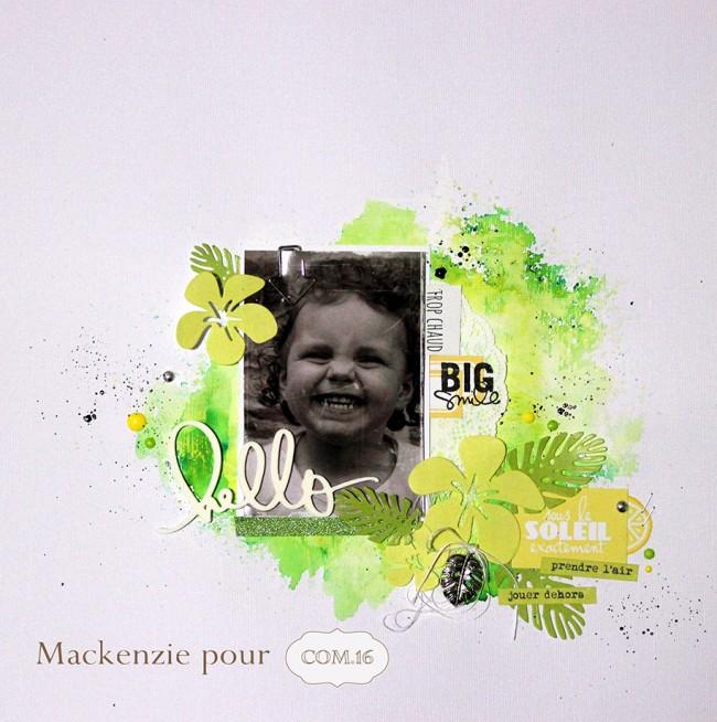 Mackenzie - DT COM.16 - vert-été-soleil