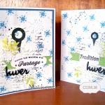 Deux cartes hivernales
