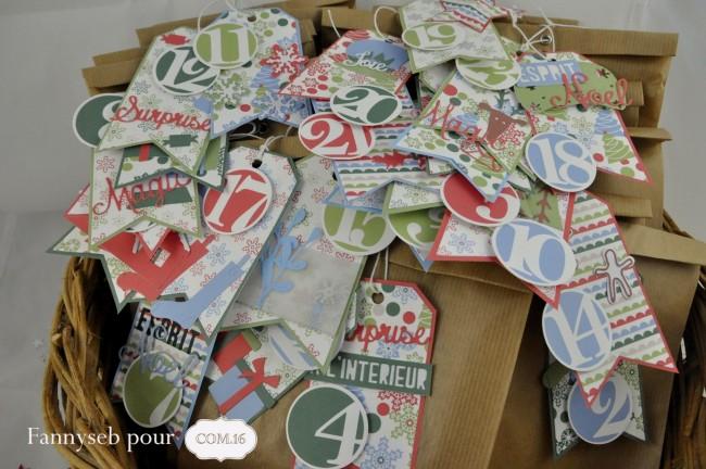calendrier de l'avent collection elise papiers COM16  panier avec étiquettes visibles nov 2015