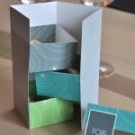 Boîte de Noël pour les invités