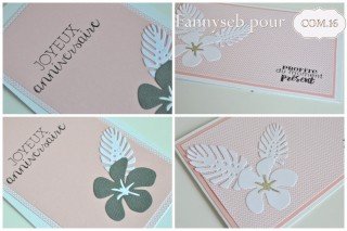 d+®tail cartes anniversaire collection +®liot 01 et +®liot  13 papier COM16 SIGNATURE