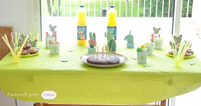 table anniversaire cactus collection felix papiers COM16 SIGNATURE
