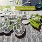 Page de scrap : passion vélo