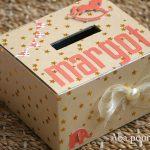 Scrap : set de naissance urne + carte