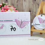 Scrap : carte anniversaire Seventieth !