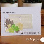 Scrap : cartes d'automne