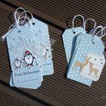 Scrap : Etiquettes cadeaux pour Noël