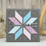 Scrap : Duo de cartes de voeux Patchwork