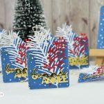 Scrap : Etiquettes pour cadeaux de fin d'année