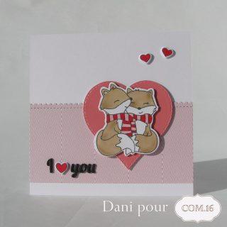 Dani carte Valentine Gary 15 Com.16