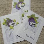 Scrap : Trio de cartes façon Mary !