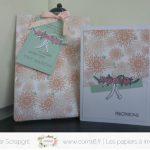 Scrap : Ensemble cadeau pour mariage