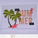 Scrap : Cartes Happy Summer Time